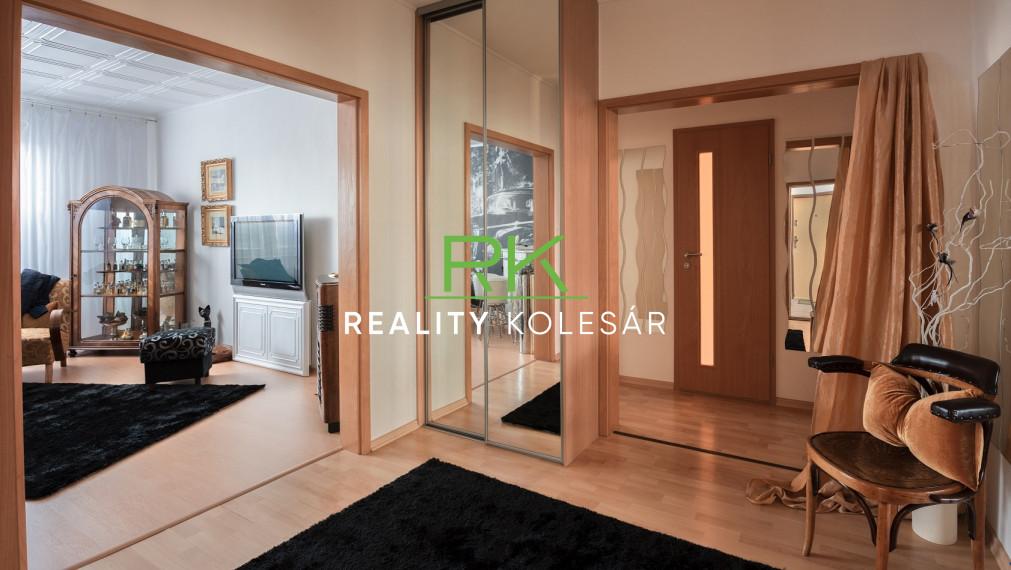 RealityKolesár predáva 3 izbový byt Bauerova ulica, KVP.
